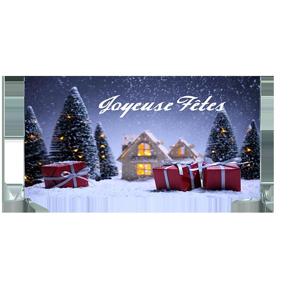 Toile n°7 - 4m48 x 2m80 - Noël Joyeuses fêtes
