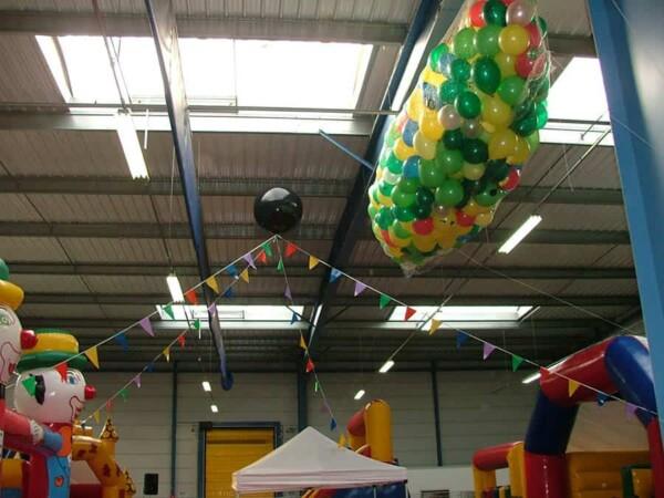 Tomber de ballons : 1000 ballons