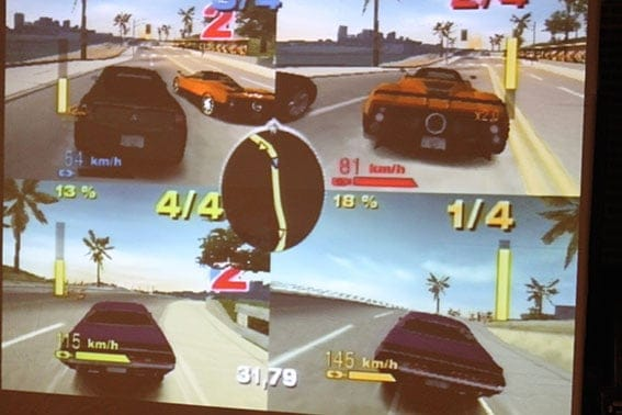 Ecran de pilotage Stand Wii