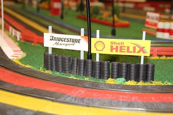 Accessoires de la piste de grand prix slot car