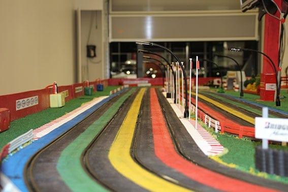 Ligne droite du circuit de grand prix
