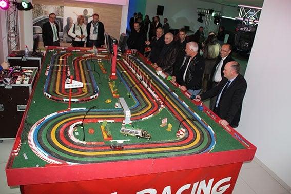Slot Racing : circuit de course