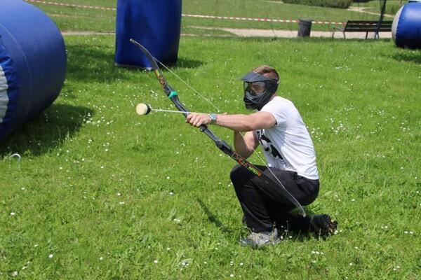 Tournoi d'archery tag : prêt à décocher