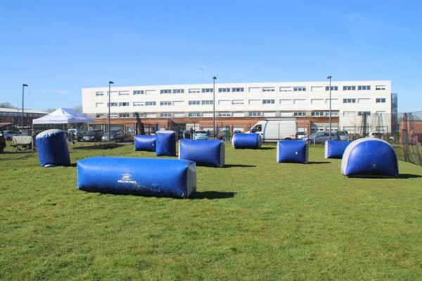 Tournoi de Paintball : le terrain