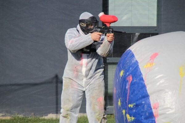 Tournoi de Paintball : en joue