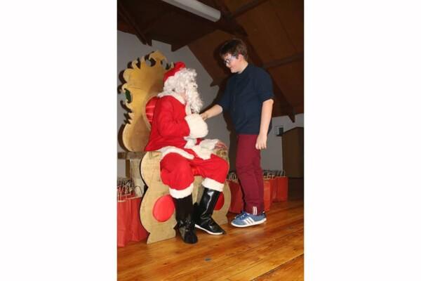 Trône du Père Noël : MErci Père Noël