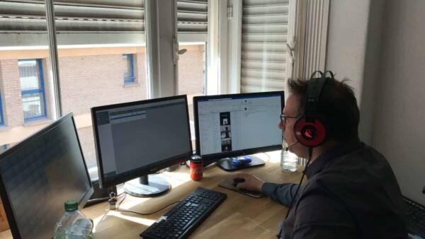 animateur virtual quizz