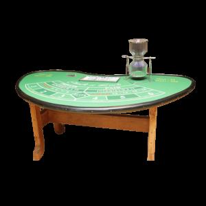 casino chuck a luck : la table détourée