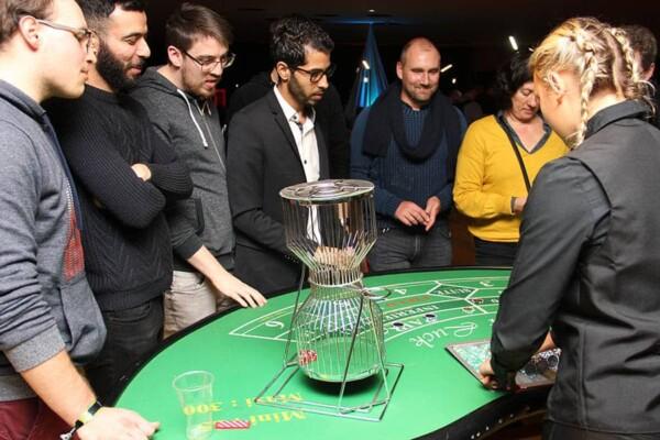casino chuck a luck : en jeu