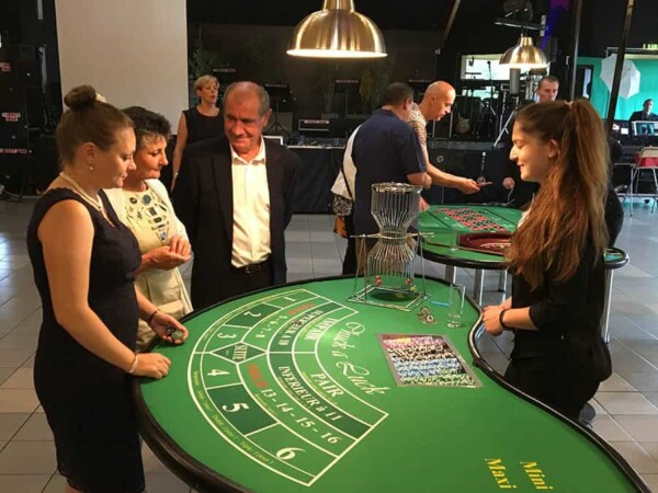 casino chuck a luck : soirée de jeu