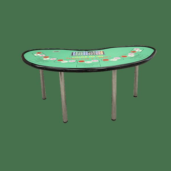 casino couleur des vins : la table détourée