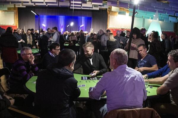 casino poker texas hold'em : en pleine soirée