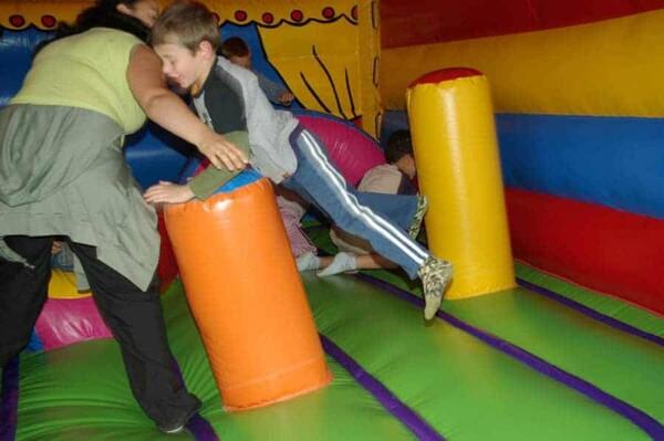 château gonflable Circus : en appui