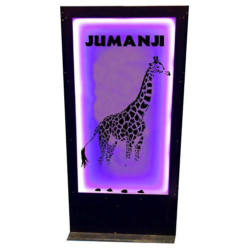 Panneau jumanji girafe