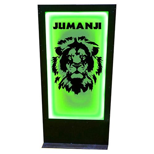 Panneau jumanji lion