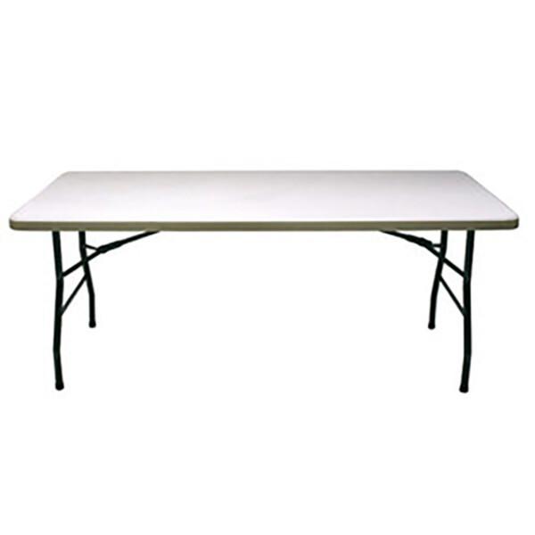 Table pliante avec housse