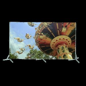 Toile géante : les balançoires